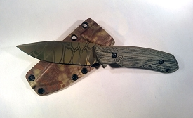 The Attleboro Knife - Straight, Kryptek Mandrake