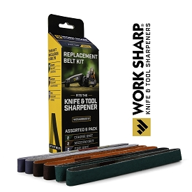 Work Sharp Knife & Tool Sharpener Assorted Belt Kit