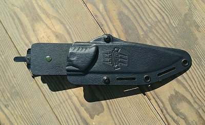 Boltaron Sheath, The Attleboro Knife, Black