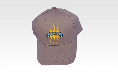 Attleboro Knives Baseball Hat - Tan with Logo